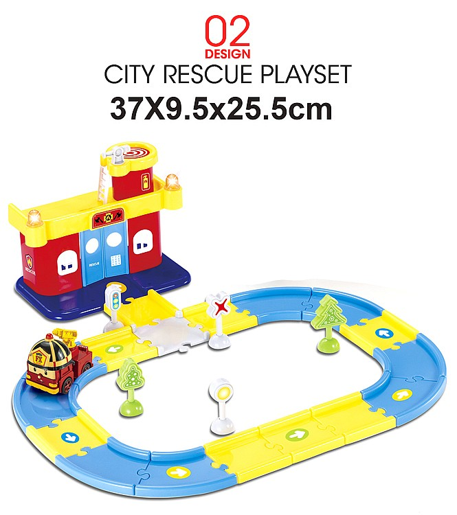 Robocar Poli (City Rescue Playset) XZ195