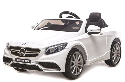 Mobil Aki Mercedes Benz S63 AMG (Official Licensed)(White) (Body Painted + Ban Karet)