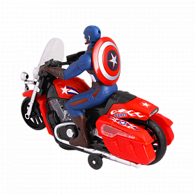 Captain America Motorcycle 2288B