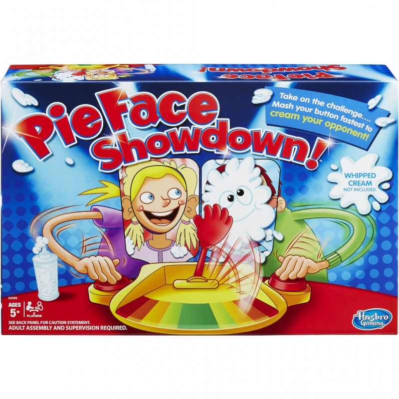 PIE FACE SHOWDOWN 2 PLAYERS