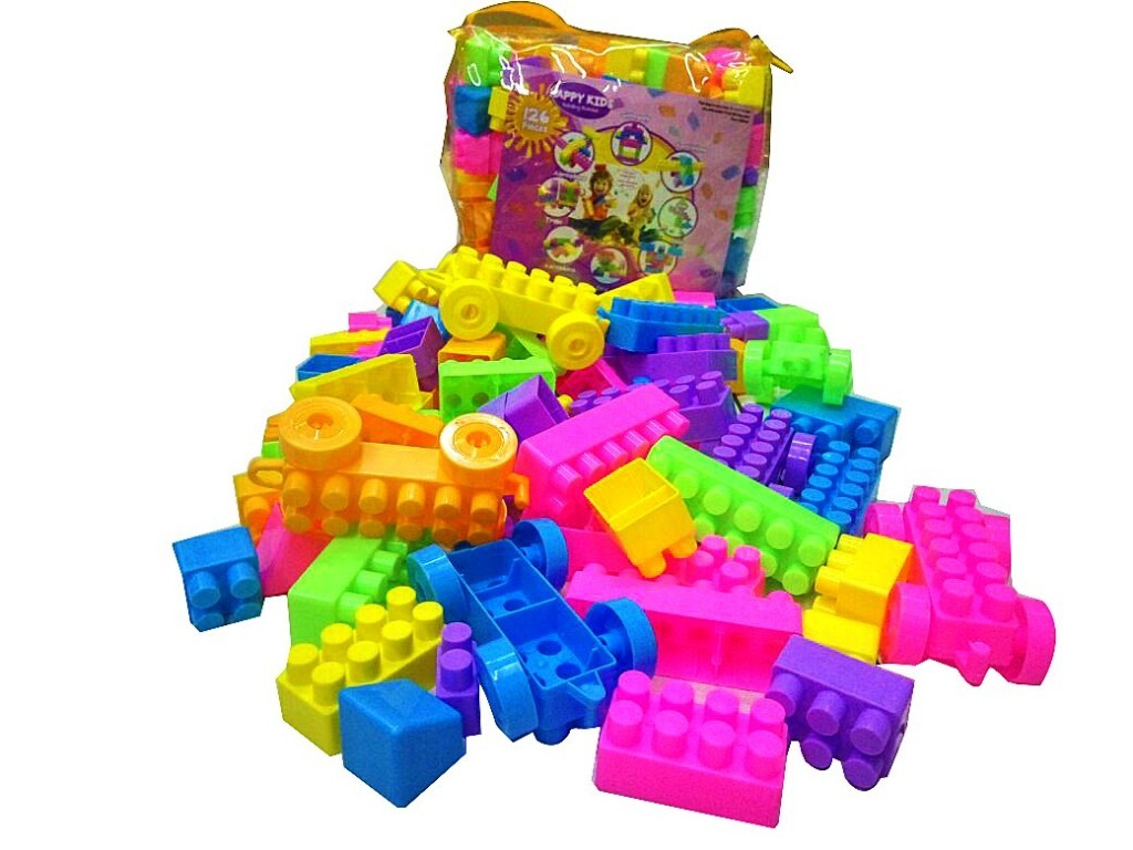 Happy Kids Block isi 126 PCS