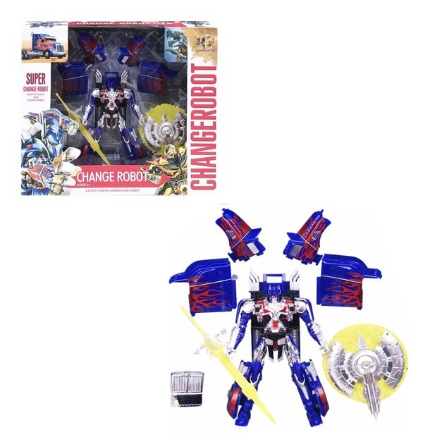 Super ChangeRobot Optimus Prime - 6815-5