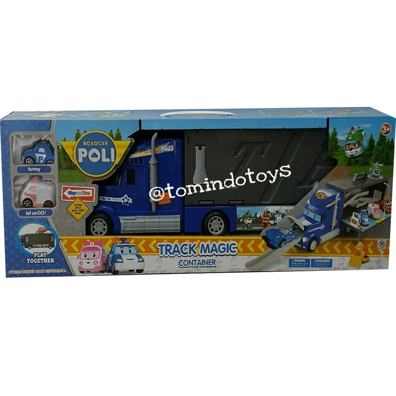 Robocar Poli Track Magic Container XZ315