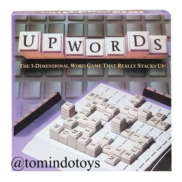 Upwords Board Game