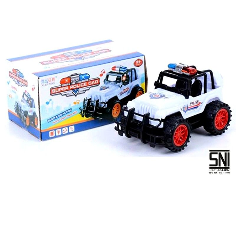 Super Police Car JEEP 0088-29