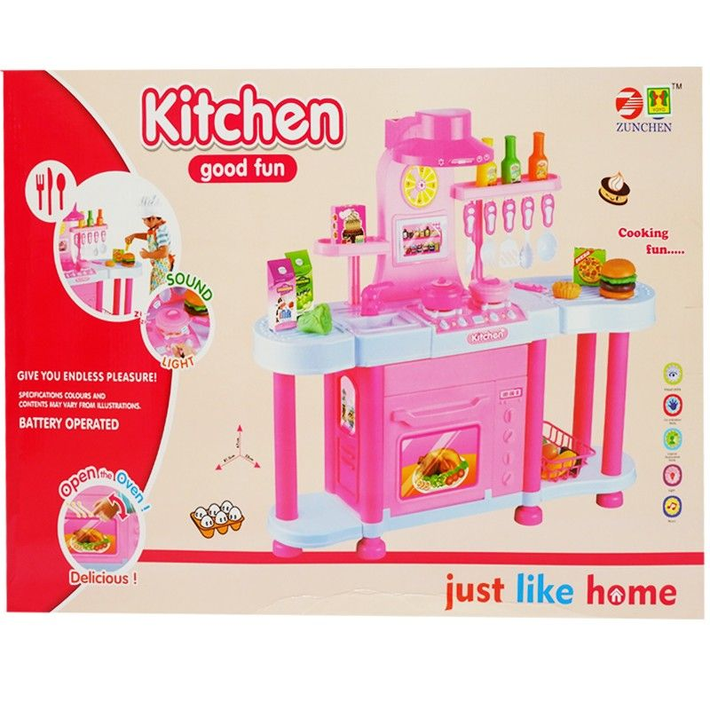 Kitchen Good Fun PINK - 6826A