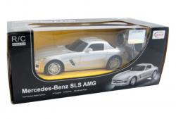 RC Mercedes Benz SLS AMG (Official Licensed) - 40100 - (RED / SILVER)