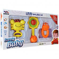 Baby Set Rattle isi 3 Pcs - 326-52