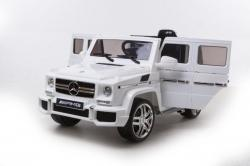 Mobil Aki Mercedes Benz G63 AMG (Official Licensed)(WHITE) (Body Painted + Ban Karet)