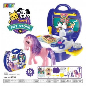 Dream Suitcase Pet Store Pony 8356