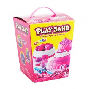 Playsand Birthday Cake