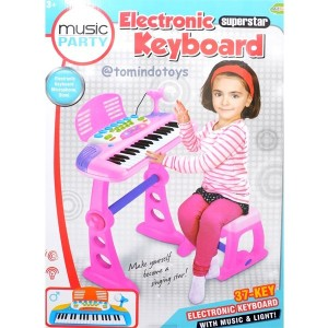 Electronic Keyboard Pink - B027