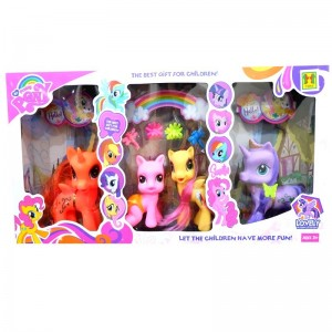 Little Pony isi 4 Pcs - 1082