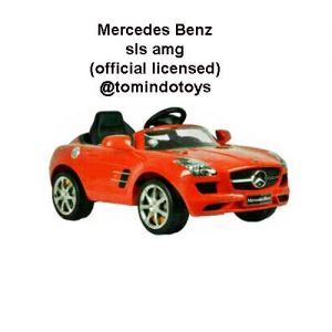 MOBIL AKI - MERCEDES BENZ SLS AMG - WHITE - OFFICIAL LICENSED
