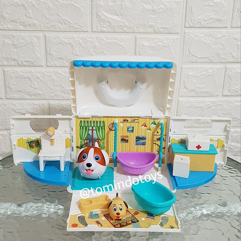 mainan anak - Pet House PUTIH BT222