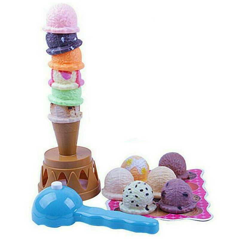 Tomindo Ice Cream Tower - mainan anak