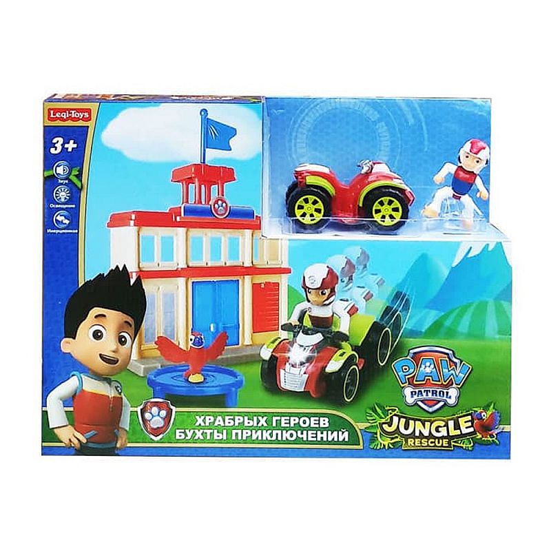 Tomindo Paw Patrol Jungle Rescue 2056A - mainan anak
