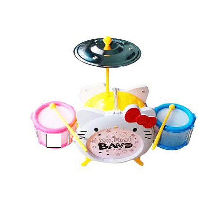Tomindo Cartoon Jazz Drum Hello Kitty 8310-1 - mainan musik