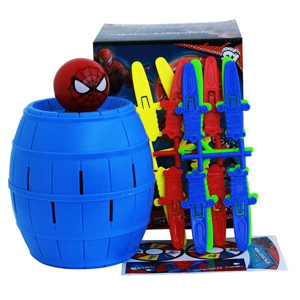 Spiderman Barrel