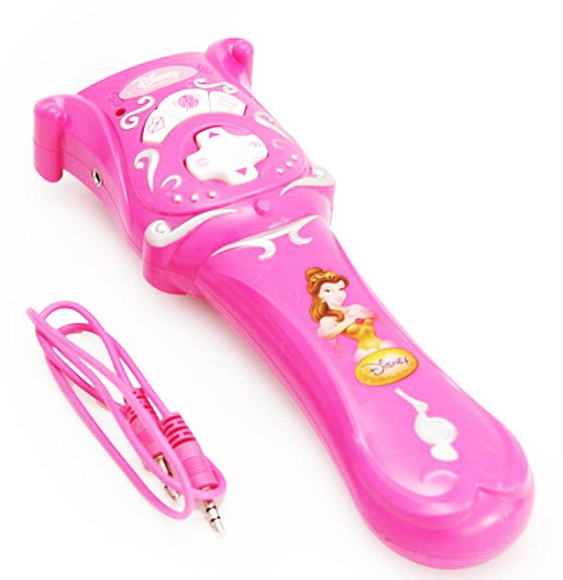 Musical Microphone Pink 66065