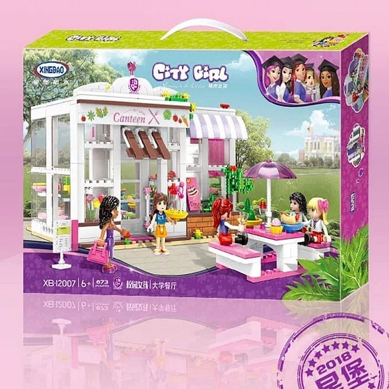 Block City Girls isi 673 pcs - 12007