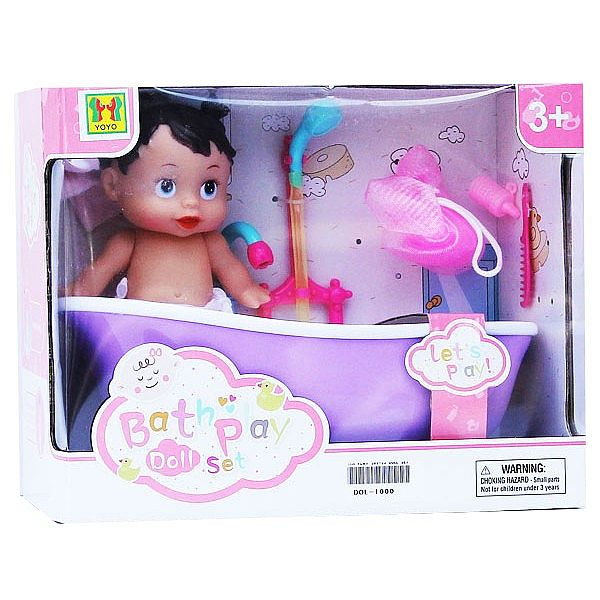 Bath Doll Playset 389-23