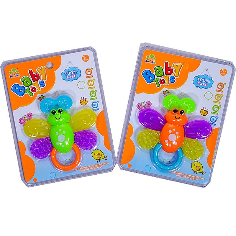 Butterfly Teether (mainan gigitan bayi) SL84801-14
