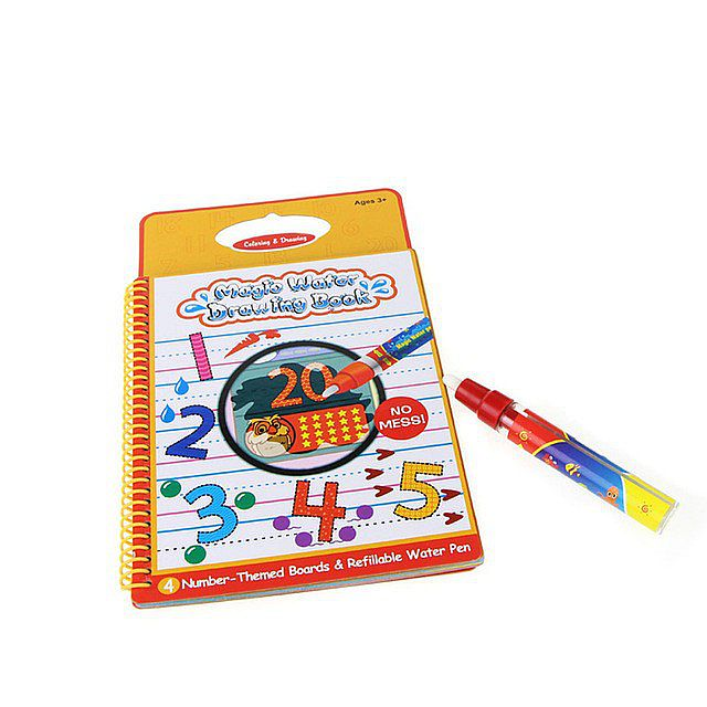 Mainan Edukasi - Magic Water Drawing Book 123