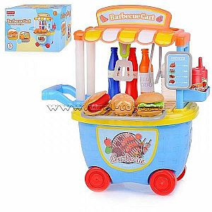 BBQ Trolley Set 5D504